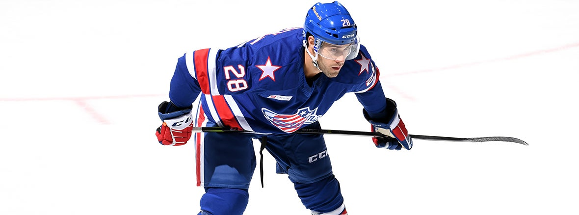 MERSCH GRATEFUL FOR OPPORTUNITY WITH AMERKS