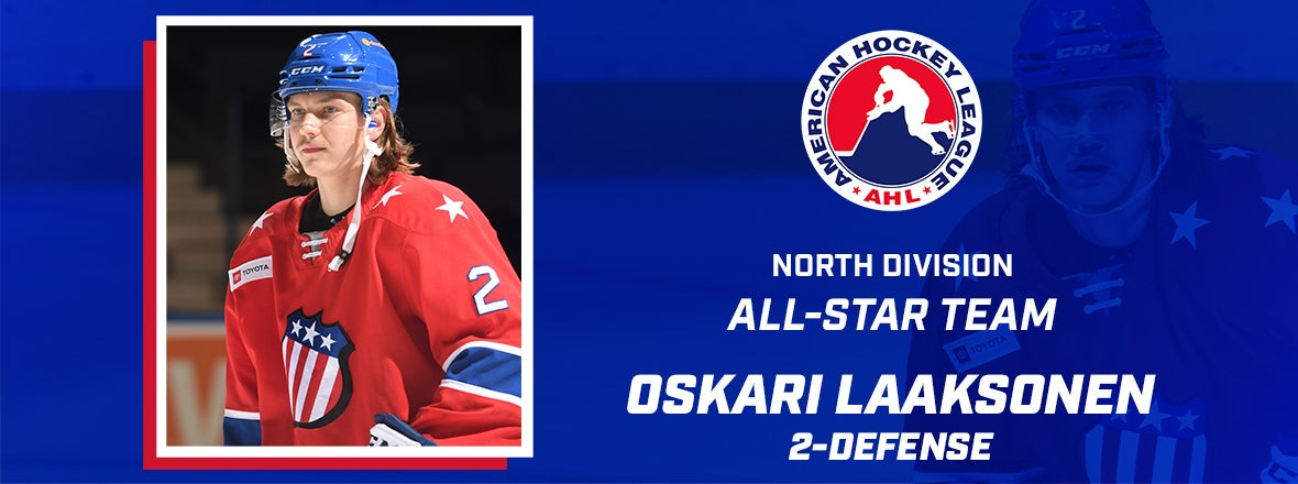 LAAKSONEN NAMED TO NORTH DIVISION ALL-STAR TEAM