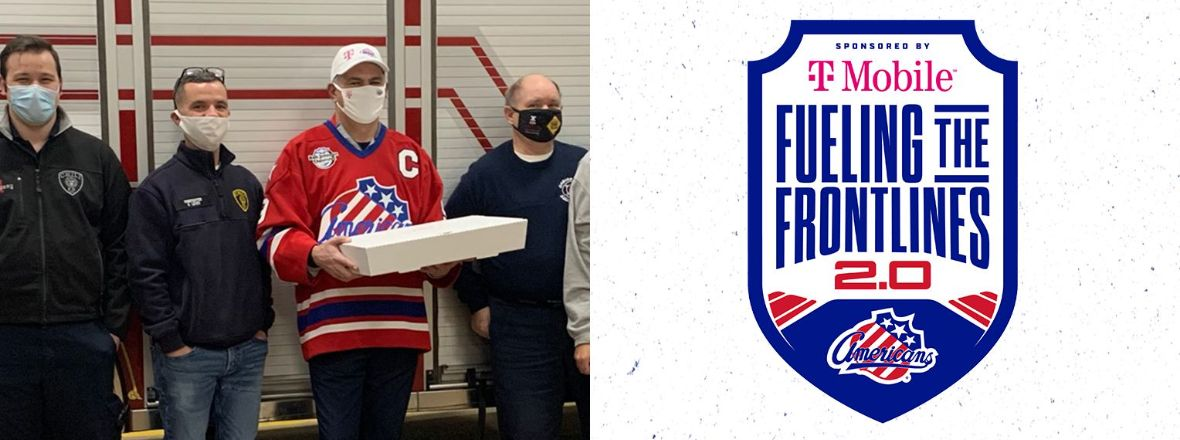 AMERKS, T-MOBILE TEAM UP AGAIN FOR FUELING THE FRONTLINES slideshow