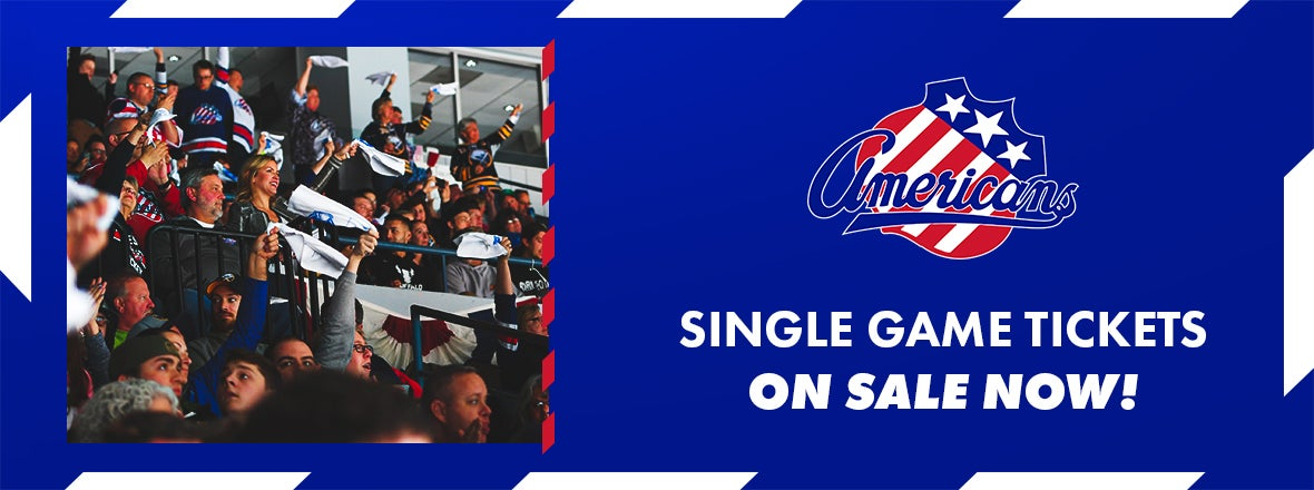 AMERKS 2021-22 SINGLE GAME TICKETS ON SALE NOW
