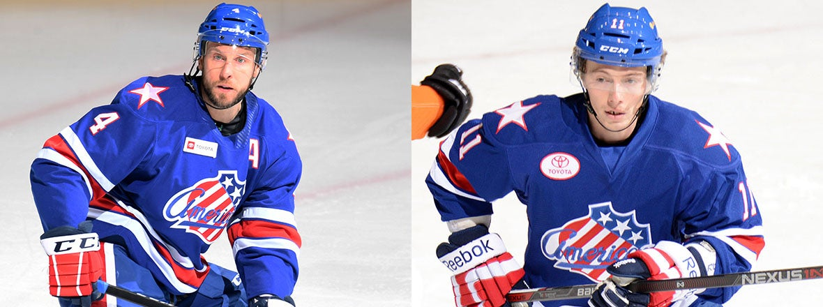 TWO FORMER AMERKS JOIN SABRES AS DEVELOPMENT COACHES
